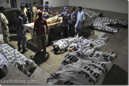 Pakistán  28 muertos en el ataque al mayor aeropuerto3