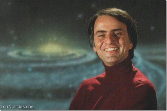 Así explicó Carl Sagan las dimensiones del espacio y el tiempo