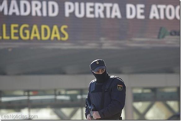 España en estado de alerta ante amenaza terrorista