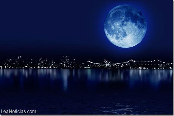 Luna azul brillará el próximo viernes