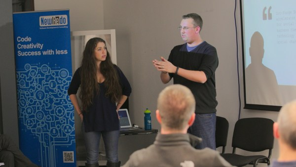 Paul Rawlings and Rikki Unger at Lean Startup Yorkshire