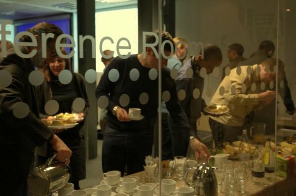 Lean Startup Yorkshire meetup buffet