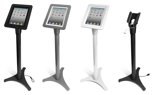 MacLocks Adjustable iPad Stand Kiosk - Metal Executive iPad Enclosure