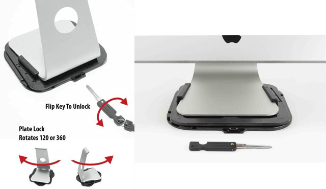 iMac Security Plate Lock explained