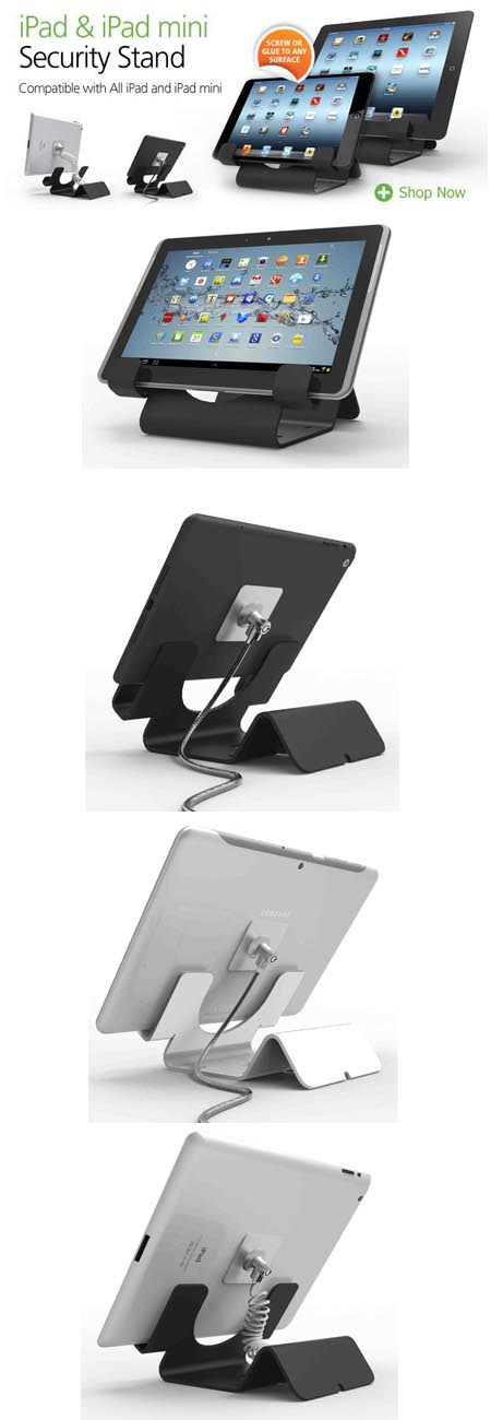 tablet, locks, holder