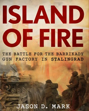 Cover of Island of Fire (Stackpole)