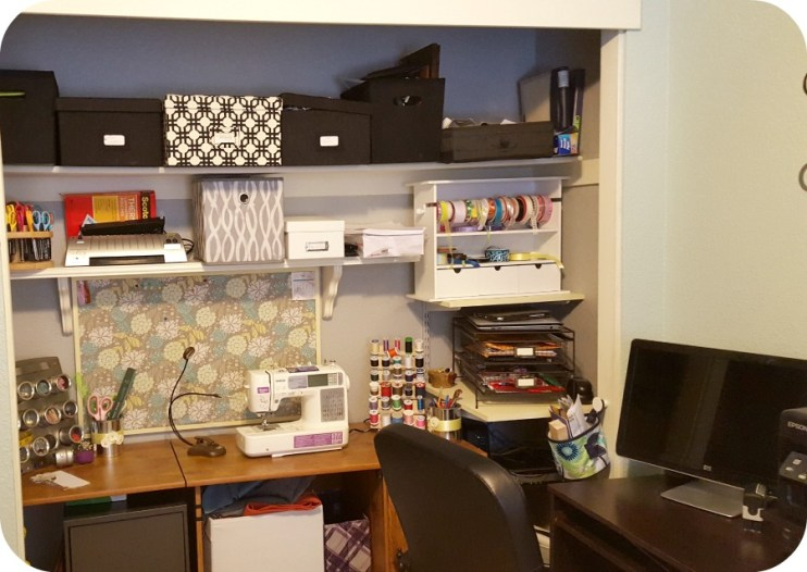 craft room sewing
