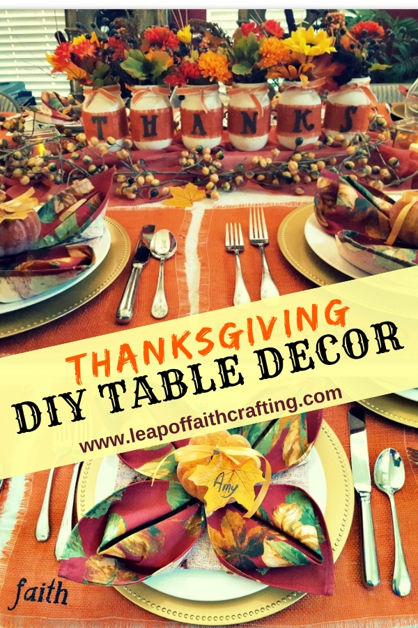 rustic thanksgiving decor diy pin