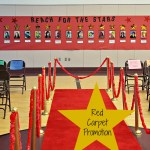 Red Carpet Theme Party for 6th Grade Graduation!