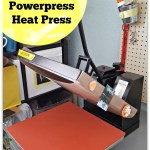 Making a T shirt with a heat press tutorial