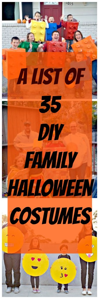 diy fun family halloween costumes