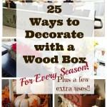 uses for diy wood box