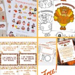 15 Free Thanksgiving Printables for Table Family Games and Activities!