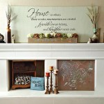 DIY Fireplace Mantel Makeover