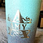 Spray Painting a Stainless Steel Mug