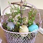 DIY Easter Egg Basket Makeover