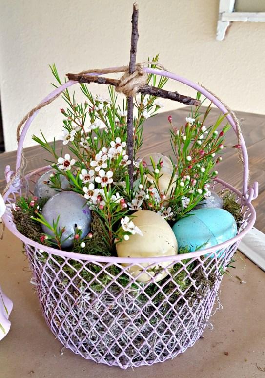 DIY Easter egg makeover tutorial