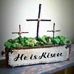 DIY Easter Cross Decoration