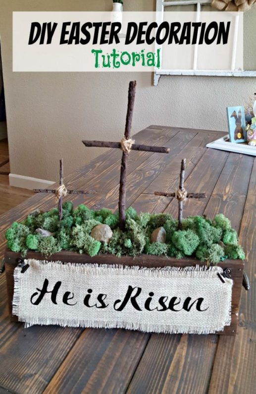 He Is Risen decor