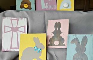 DIY Easter Wood Sign Tutorial