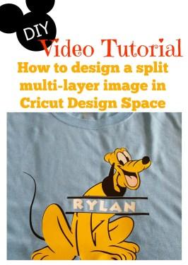 cricut video tutorial DIY disney shirts