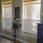 DIY farmhouse window trim molding tutorial