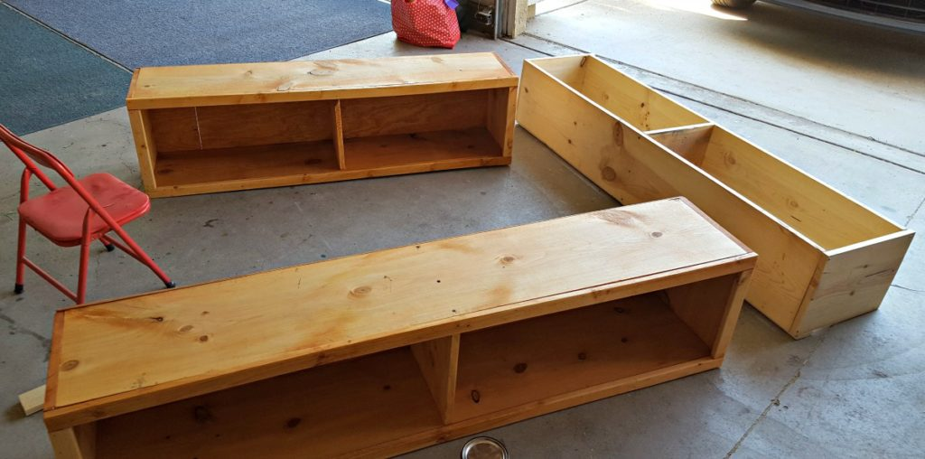Diy Full Size Bed Frame With Storage Ana White