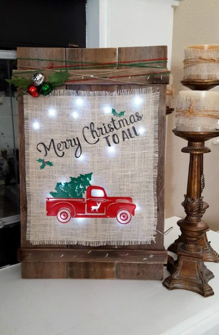 diy farmhouse christmas decor