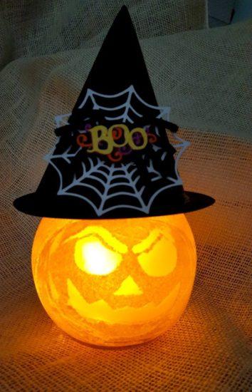 DIY glass pumpkin tutorial