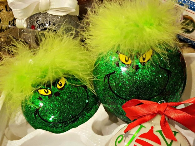 grinch decor and craft