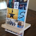 teen gift idea wooden phone stand