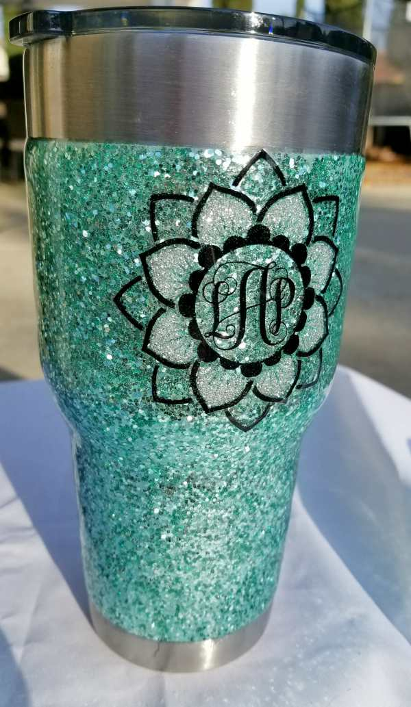 Glitter Tumbler Step By Step Pics And Video Tutorial