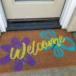 Make Your Own Doormat!  Easy DIY Tutorial!!