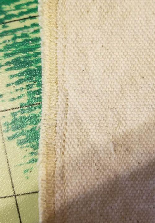 diy canvas zipper pouch