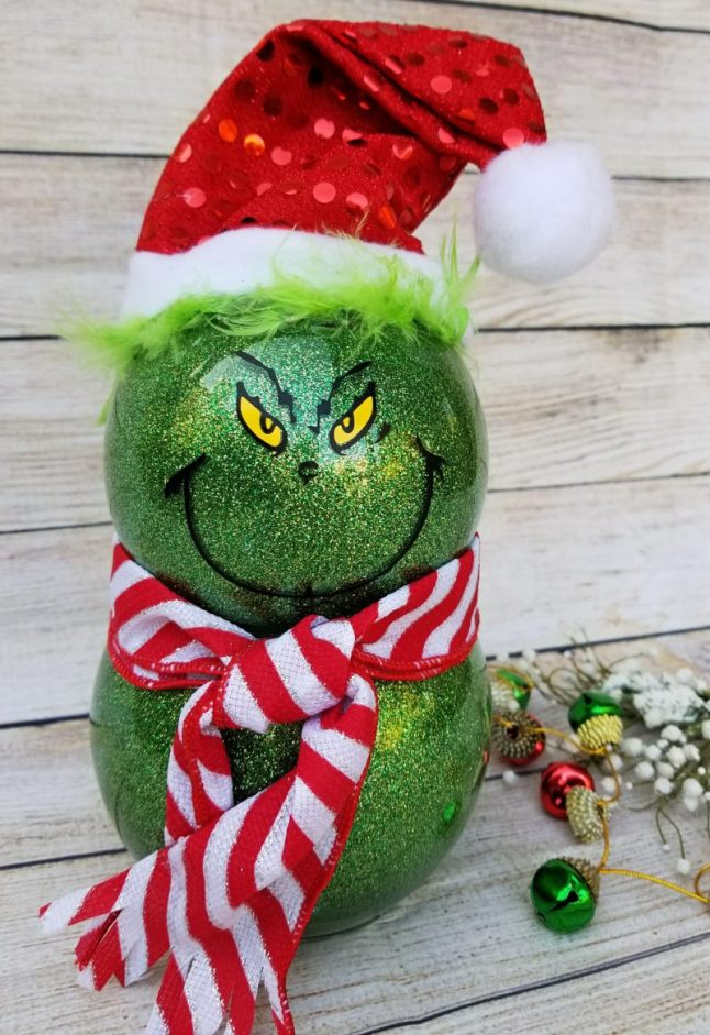 grinch decorations diy