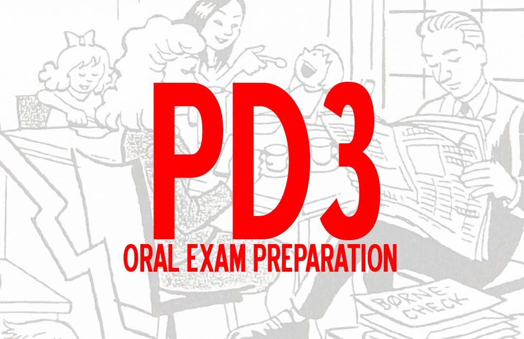 Prøve i Dansk 3 Oral preparation