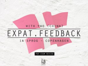 Expat-feedback-Yao - Learn Danish - IA Sprog