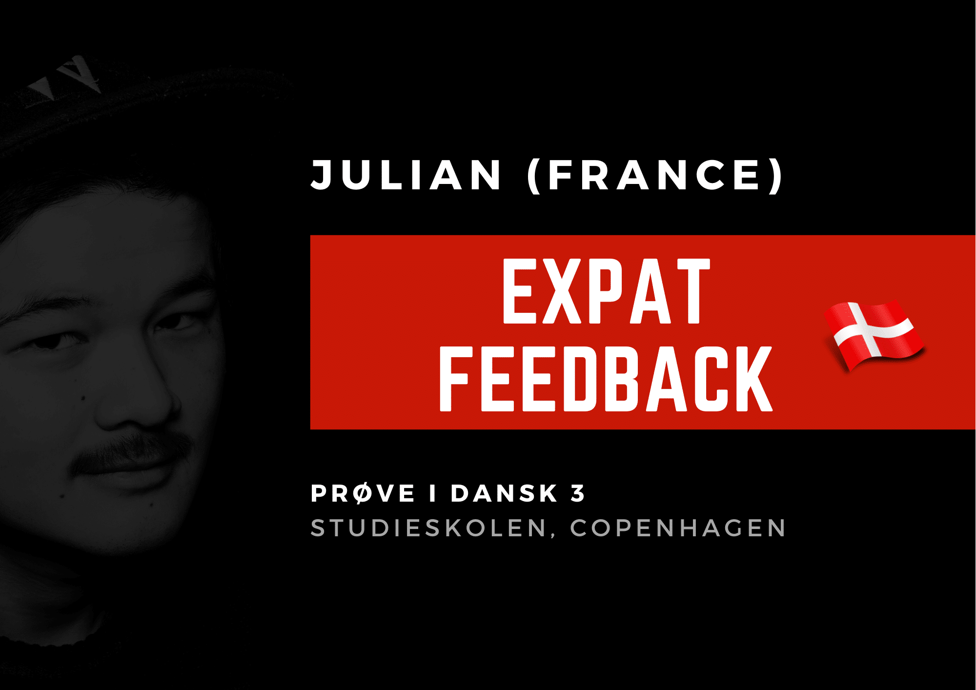 Learn Danish - Julian from France