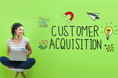 Strategically customer acquisition