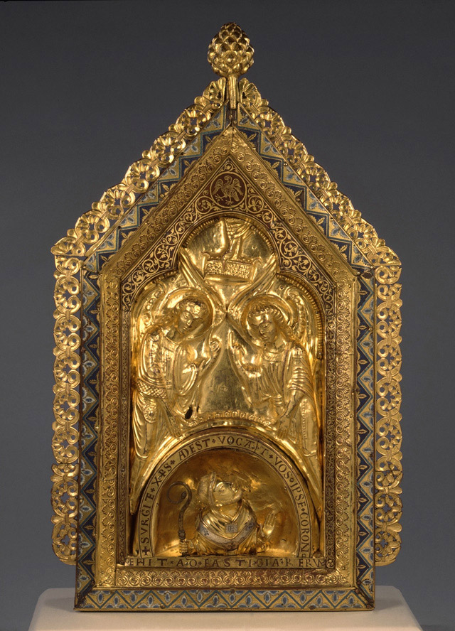 Reliquary shrine of St Gondulph