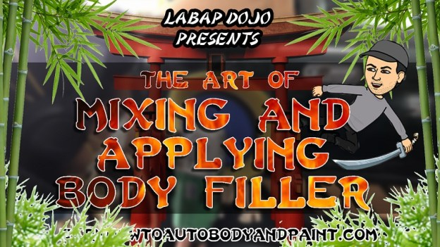Diy How To Bondo Auto Body Repair Mix And Apply Body Fille