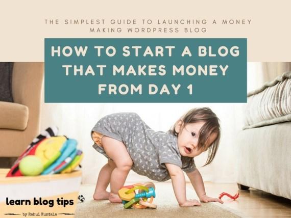 how to start a wordpress blog 2017