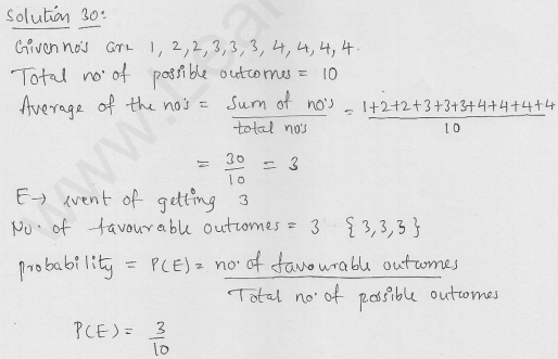 RD-Sharma-Solutions-For-Class-10th-Maths-Chapter-13-Probability-Ex-13.1-Q-30