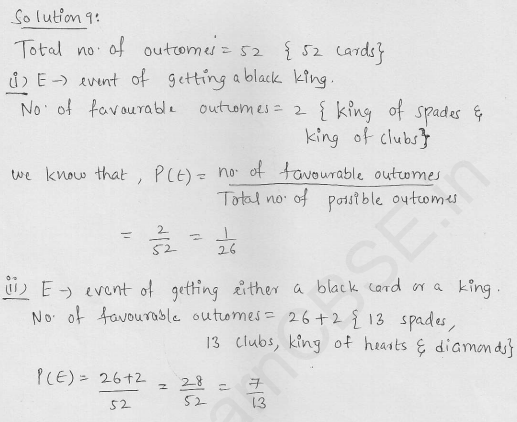 RD-Sharma-Solutions-For-Class-10th-Maths-Chapter-13-Probability-Ex-13.1-Q-9