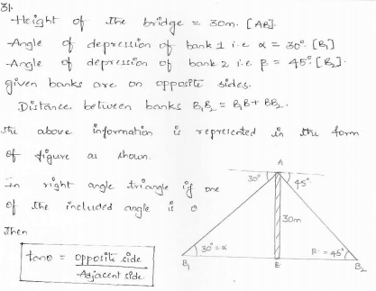 RD-Sharma-class 10-maths-Solutions-chapter 12 - Applications of Trigonometry -Exercise 12.1 -Question-31