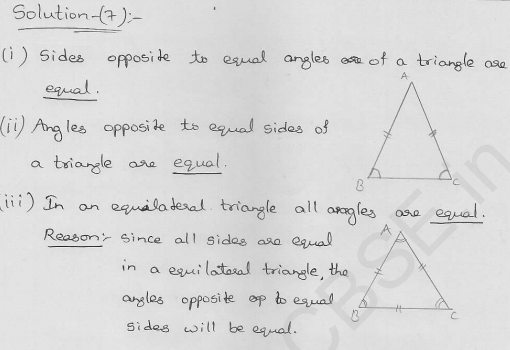 RD-Sharma-class 9-maths-Solutions-chapter 10-Congruence Triangles-Exercise 10.5-Question-7