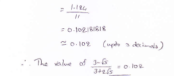 RD Sharma class 9 maths Solutions chapter 3 Rationalisation Exercise 3.2 Question 10_1