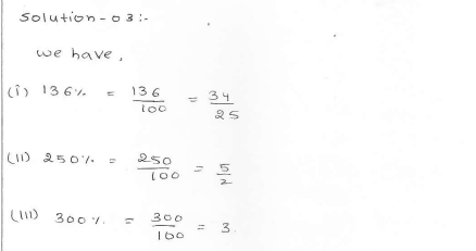 RD Sharma class 7 solutions 11.Percentage Ex-11.3 Q 3