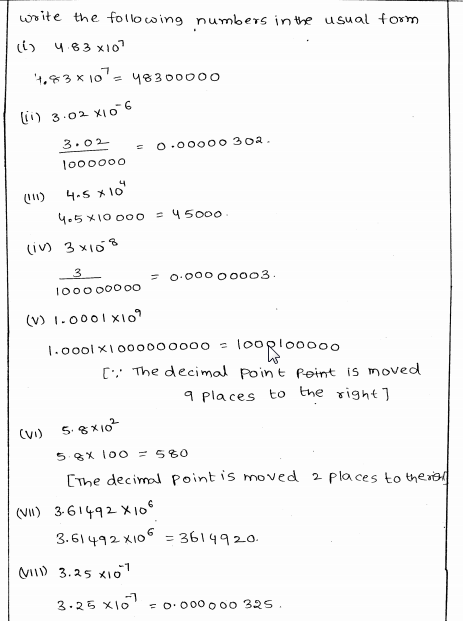 RD Sharma Class 8 Solutions Chapter 2 Powers Ex 2.3 Q 2