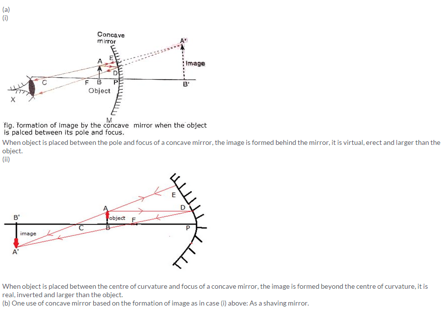 Physics Chapter 4 Reflection Of Light, Why Is Concave Mirror Used In Searchlights And Headlights Class 7
